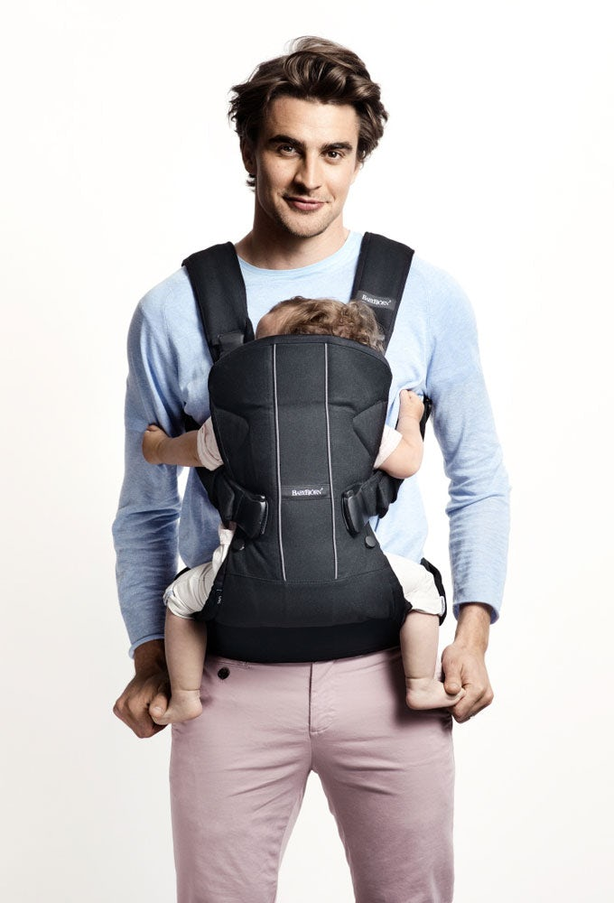baby carrier one an ergonomic best seller babybj rn rh babybjorn com Baby Bjorn Dad Baby Bjorn Logo