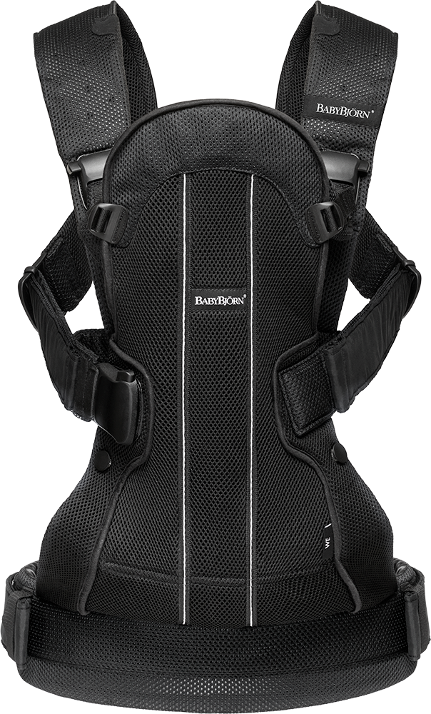 Baby Carrier We Air Mesh Black