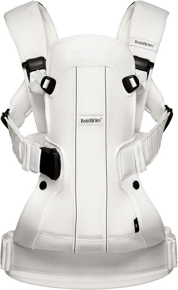 Baby Carrier We Air Mesh White