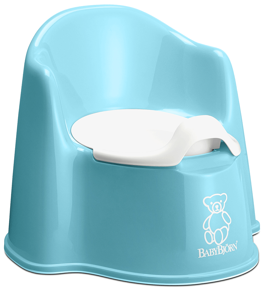 3d01f8acbd9 Comfortable potty chair with backrest