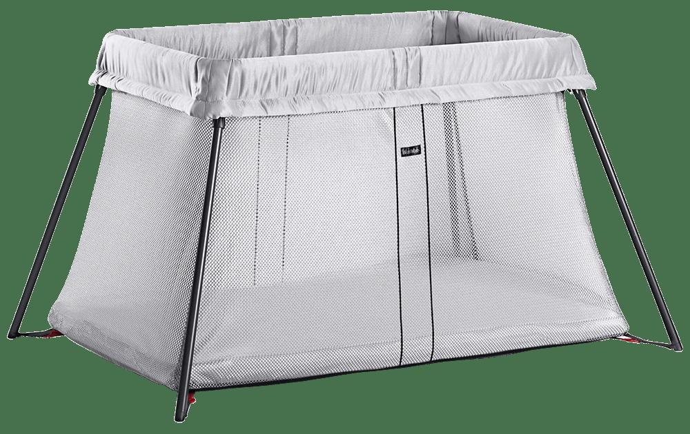 Babybjorn Travel Crib Light Silver Canada
