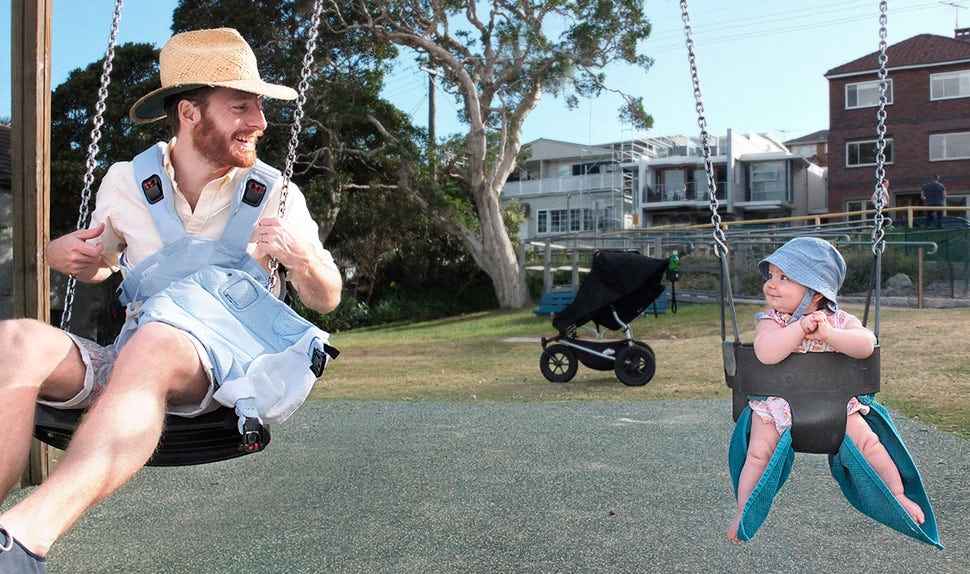 BABYBJÖRN Magazine – Johannes on paternity leave in Australia.