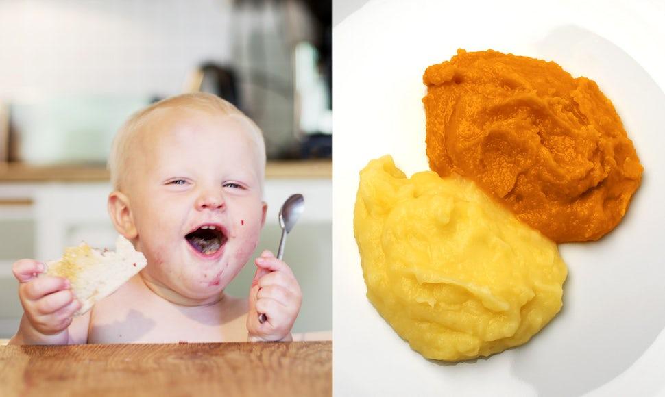 Start making homemade baby food