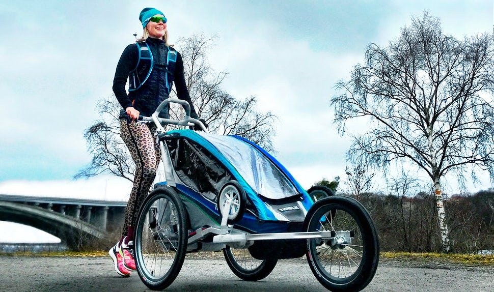 BABYBJÖRN Magazine – Petra Månström runs to keep fit as her postpartum exercise.
