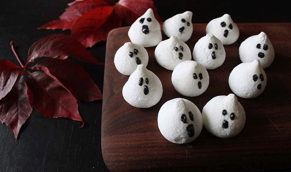 6 yummy Halloween ghosts to make