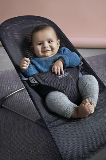 Baby Bouncer Bliss Anthracite Mesh - BABYBJÖRN