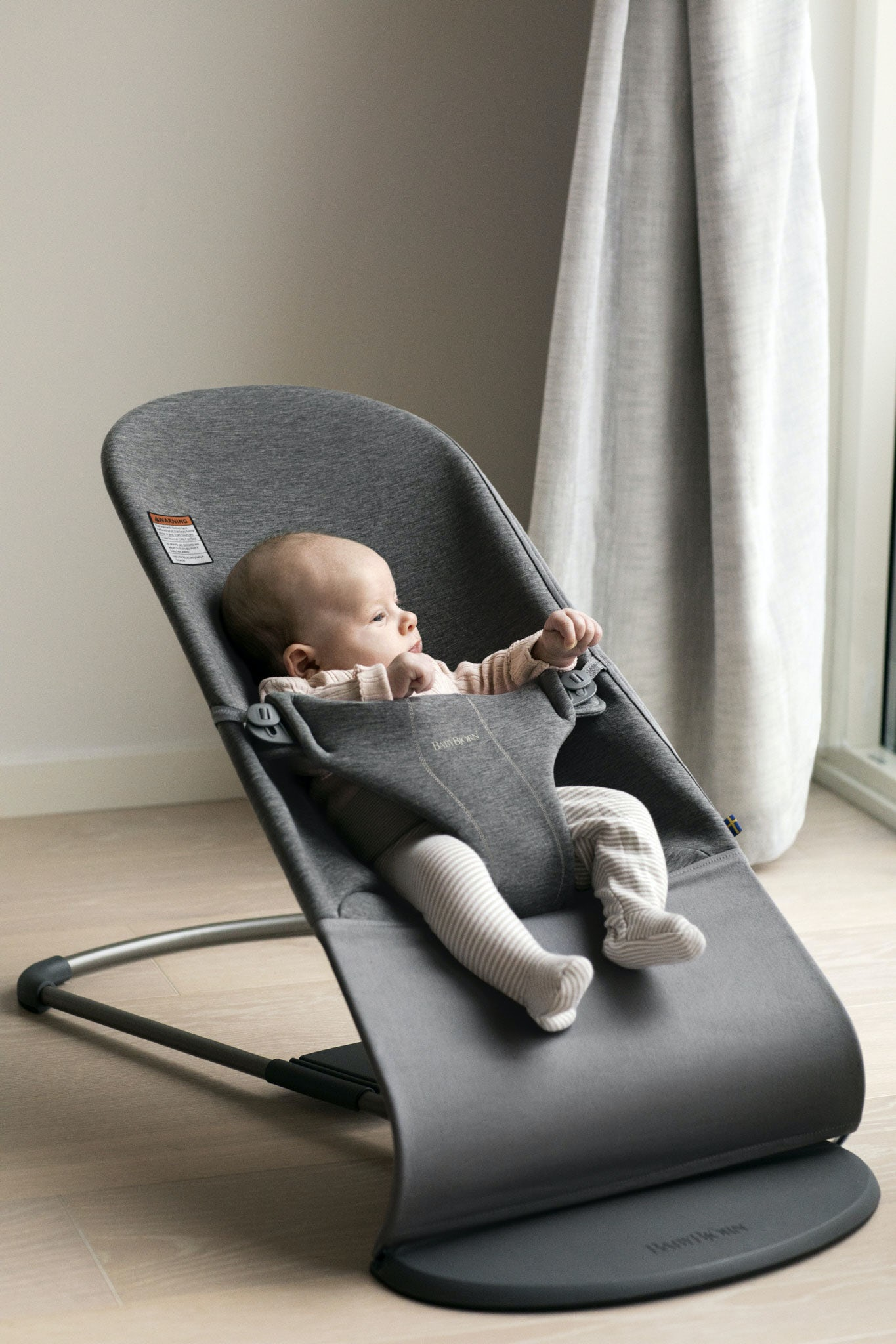 Bouncer Bliss Cozy For Your Newborn Babybjorn