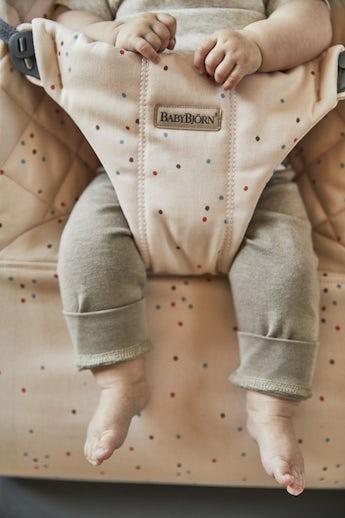 Siège Sauteur Rose Paillettes Cotton - BABYBJÖRN