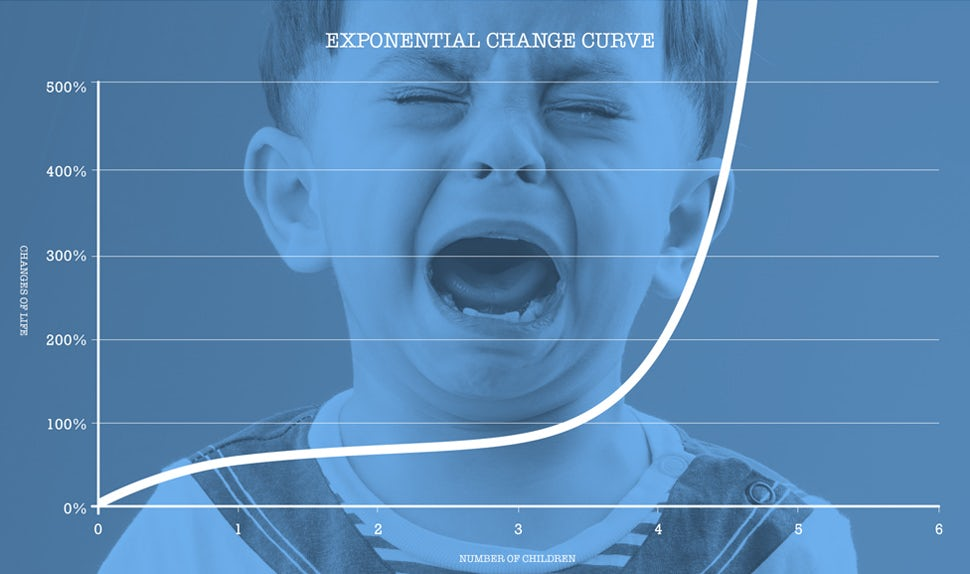 BABYBJÖRN Magazin – Père de trois enfants & la courbe exponentielle du changement de la vie.