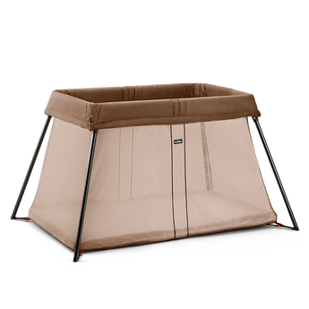 Travel Cot Light Light Brown BABYBJÖRN