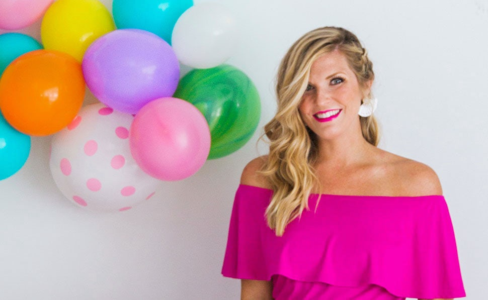 BABYBJÖRN Magazine – Portrait of partyblogger Meredith from Cake and Confetti