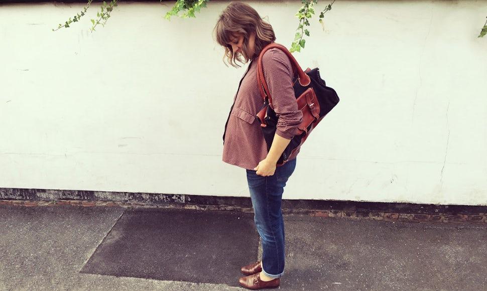 Magazine BABYBJÖRN – La blogueuse britannique Nicola Friend, ici enceinte de son premier enfant, se demande si l'hypnonaissance fonctionne vraiment.