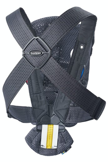 BABYBJÖRN Baby Carrier Mini Anthracite - perfect for newborn