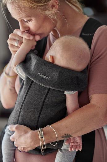 Porte-bébé Mini en Jersey 3D - doux et parfait pour les nouveau-nés