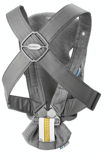 BABYBJÖRN Baby Carrier Mini Dark Gray 3D-Jersey - perfect for newborn