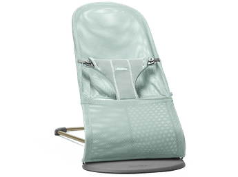 BABYBJÖRN Bouncer Bliss, Frost green, Mesh – Baby Power Collection