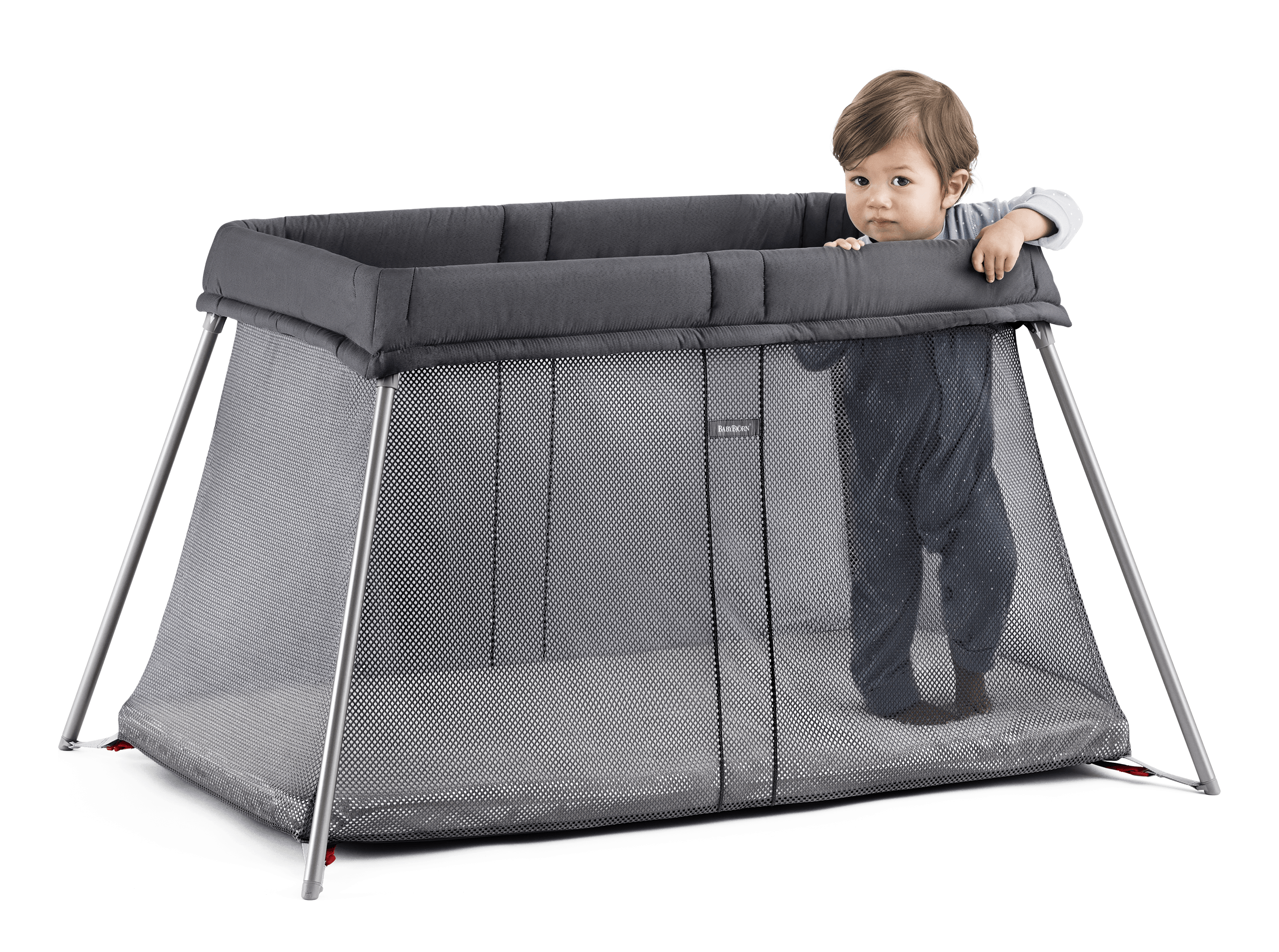 Small travel crib for baby – easy to use | BABYBJÖRN