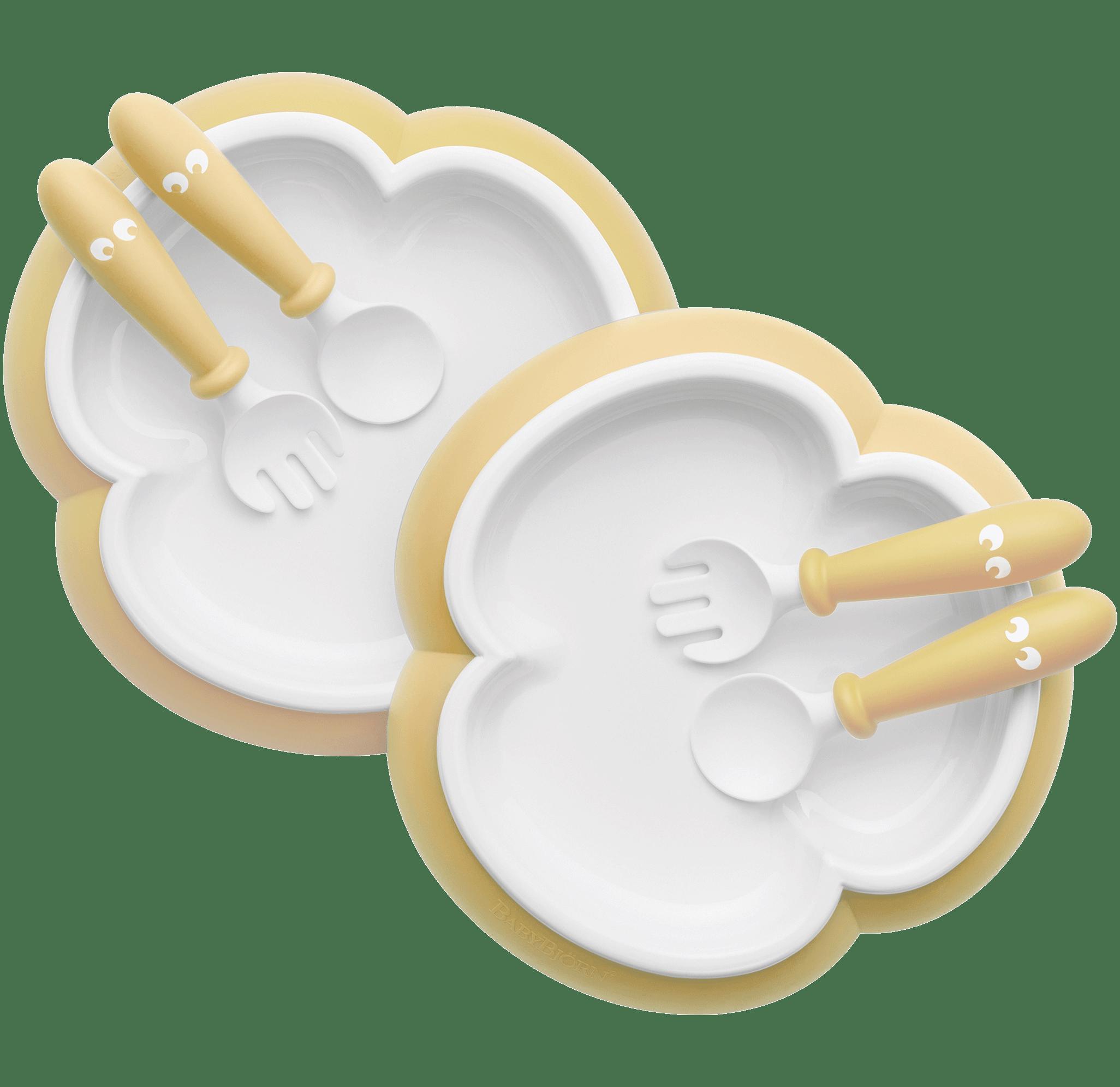951b56dd5db Baby plate set including baby silverware