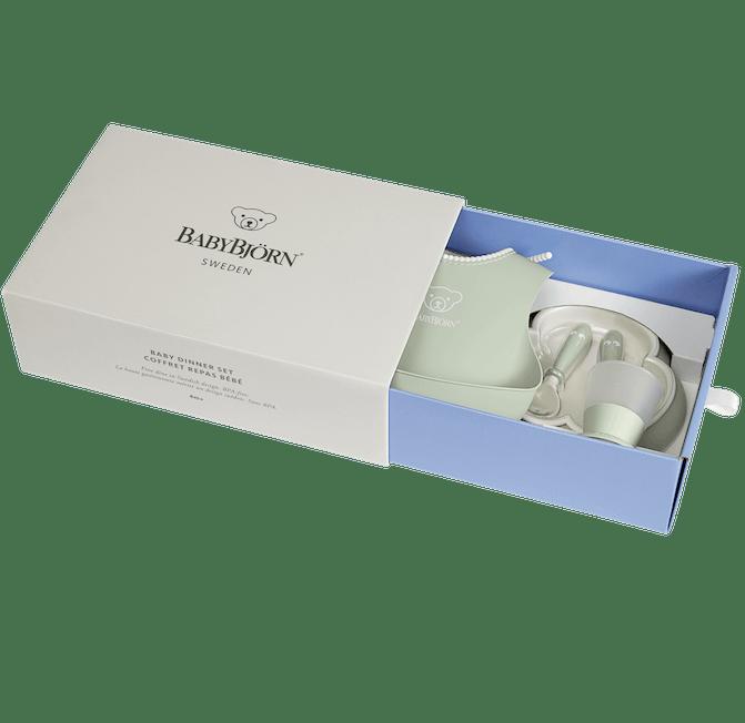 Baby Dinner Set box Powder Green - BABYBJÖRN