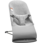 Bouncer Bliss Light grey 3D Jersey-006072 - BABYBJÖRN