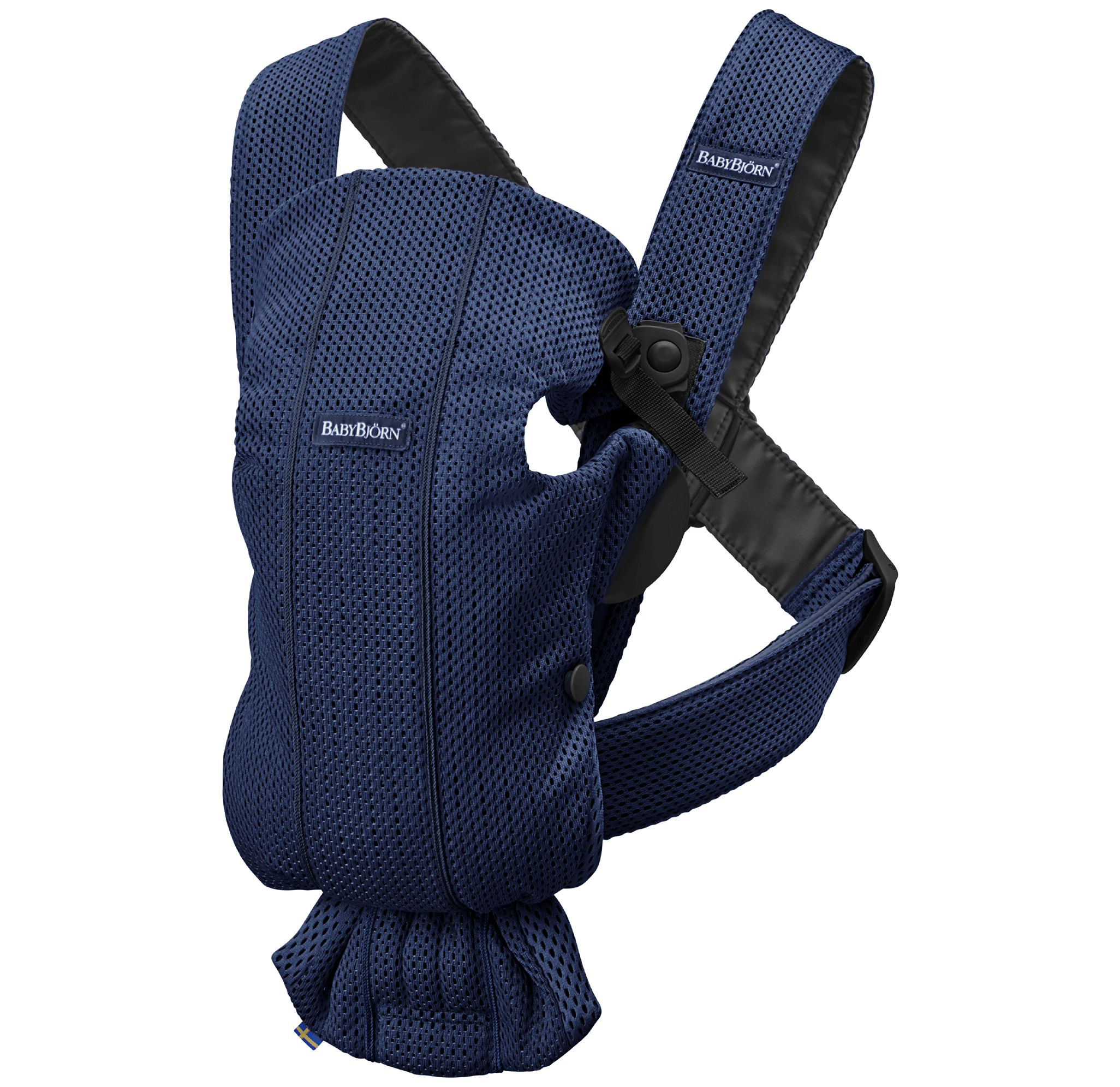 Baby Carrier Mini Navy Blue 3D Mesh, new colors 2019, 021008 - BABYBJORN