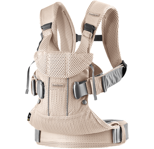 c4b399f5998 BABYBJÖRN Baby Carrier One Air in Pearly Pink 3D Mesh
