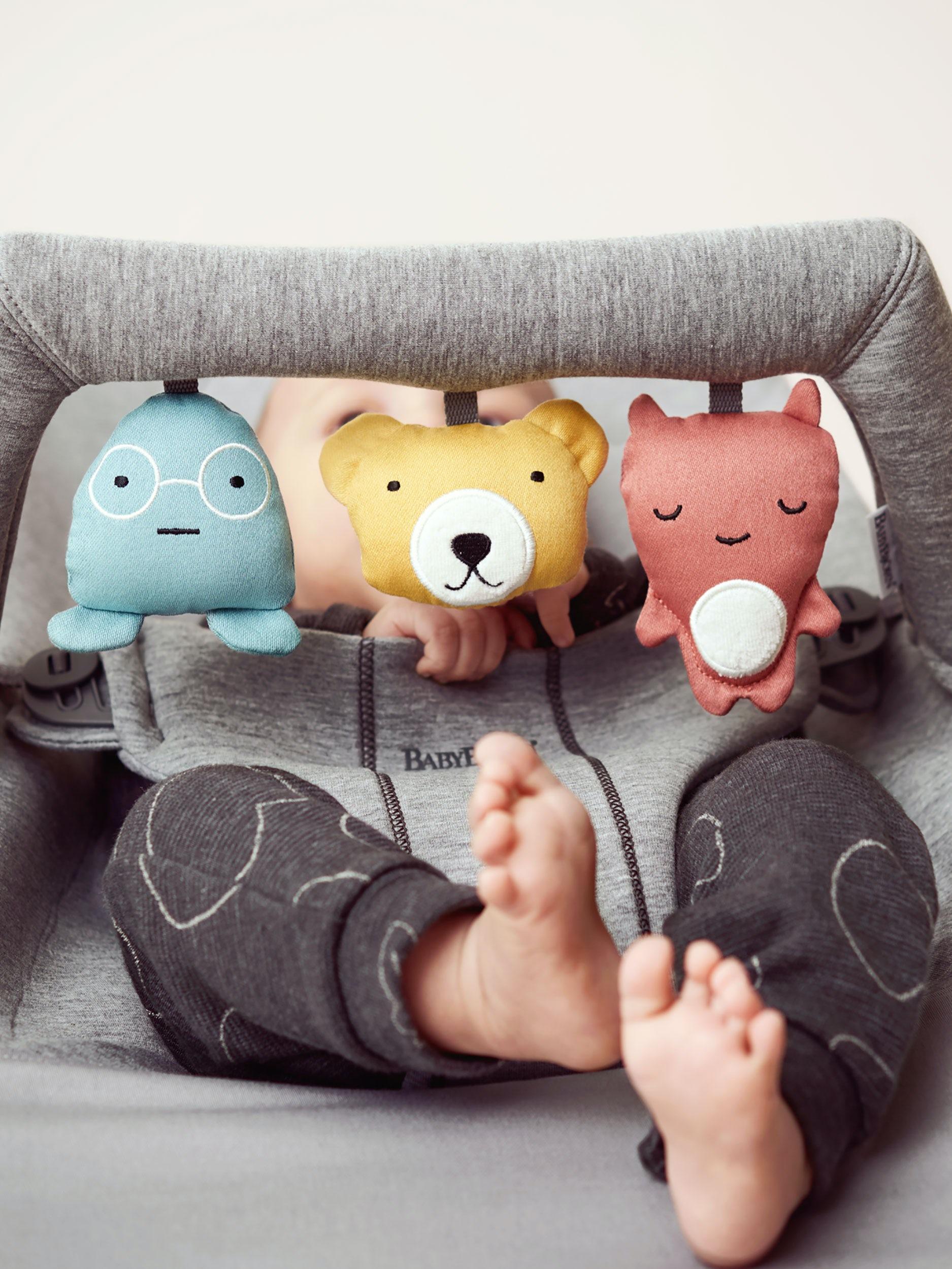 BABYBJ/ÖRN Toy for Bouncer Soft Friends Soft Friends