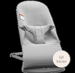 Siège Sauteur Bliss - Soft Selection Gris Clair 3D Jersey 006001, Siège Sauteur ergonomique – BABYBJÖRN