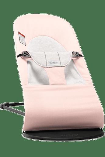 Siège Sauteur Balance Soft Rose clair/Gris Cotton Jersey - BABYBJÖRN