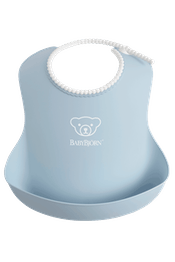 Baby Bib 1-pack Powder Blue - BABYBJÖRN