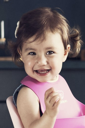 Baby Bib 1-pack Pink - BABYBJÖRN
