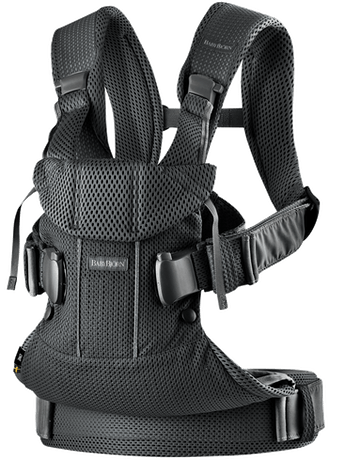 Baby Carrier One Air Black airy 3D Mesh - BABYBJÖRN