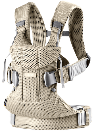 Baby Carrier One Air Greige airy 3D Mesh - BABYBJÖRN