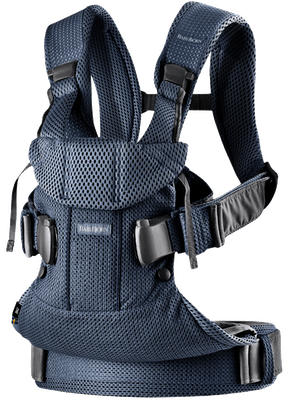 Baby Carrier One Air Navy Blue in airy 3D Mesh - BABYBJÖRN