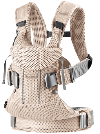 Baby Carrier One Air Pearly Pink in airy 3D Mesh - BABYBJÖRN