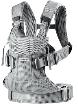 Baby Carrier One Air Silver in airy 3D Mesh - BABYBJÖRN