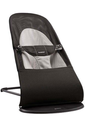 Bouncer Balance Soft in Black/Grey Mesh - BABYBJÖRN