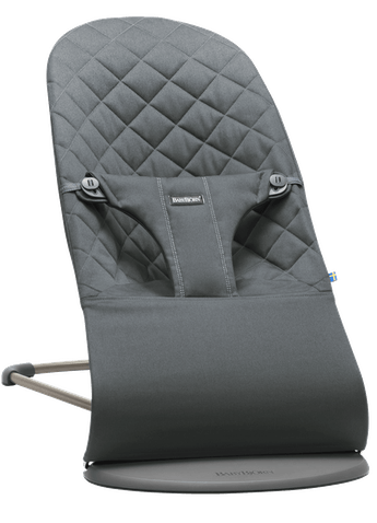 Bouncer Bliss Anthracite Cotton - BABYBJÖRN