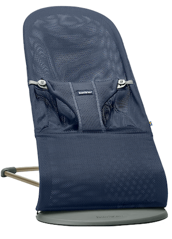 Baby Bouncer Bliss Navy Blue Mesh - BABYBJÖRN