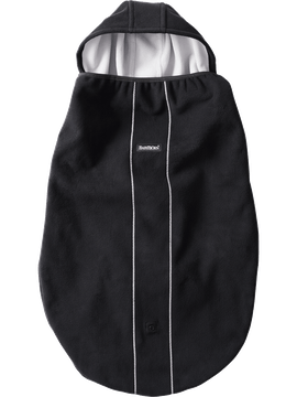Windproof Cover for Baby Carrier Black - BABYBJÖRN