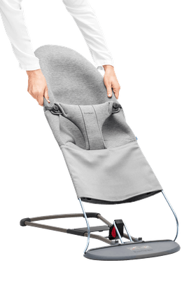 BABYBJÖRN Bouncer Bliss Light grey, 3D Jersey