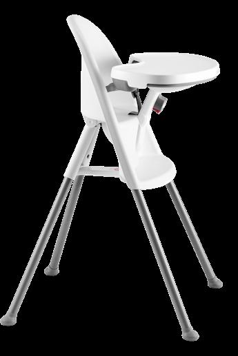 High Chair in White Grey - BABYBJÖRN