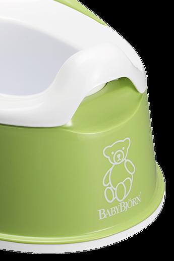 Smart Potty in Green BPA-free plastic - BABYBJÖRN