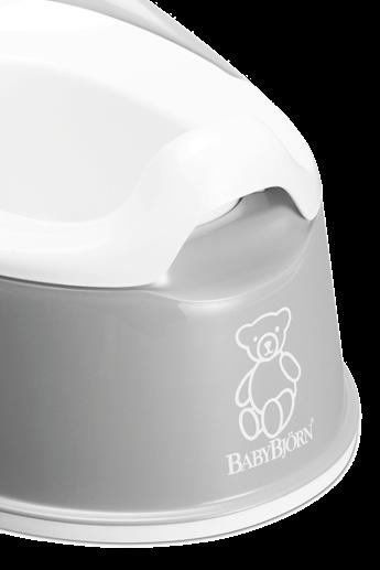 Smart Potty in Grey BPA-free plastic - BABYBJÖRN