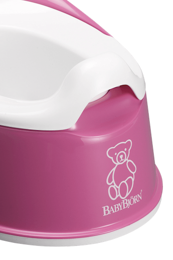 Smart Potty in Pink BPA-free plastic - BABYBJÖRN