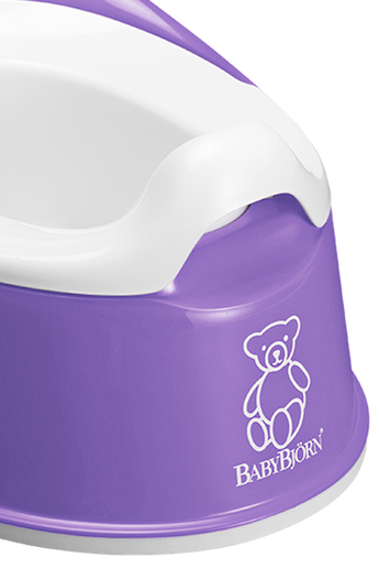 Smart Potty in Purple BPA-free plastic - BABYBJÖRN
