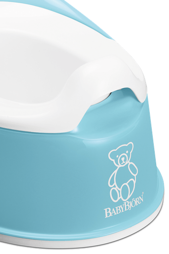 Smart Potty in Turquoise BPA-free plastic - BABYBJÖRN