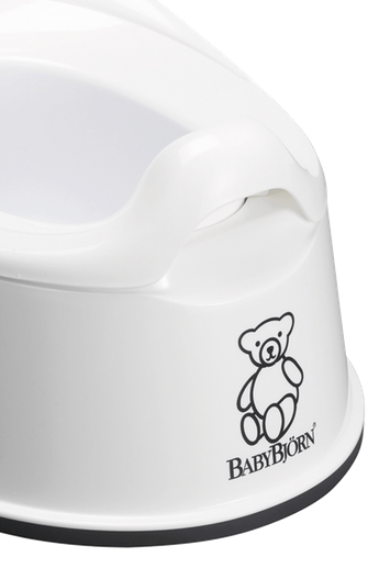 Smart Potty in White BPA-free plastic - BABYBJÖRN