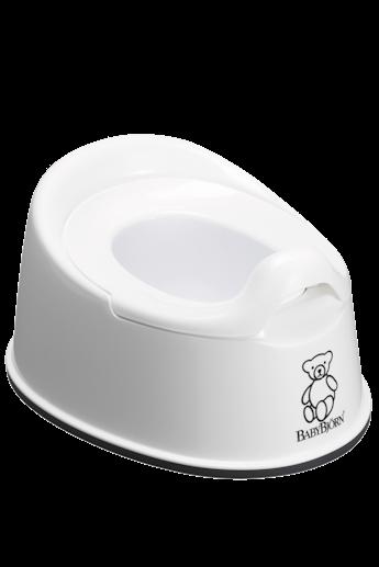 Smart Potty in White BPA-free plastic - BABYBJÖRN
