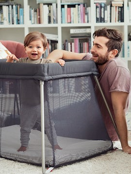Travel Cot Easy Go Anthracite - BABYBJÖRN